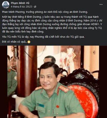 Vì sao Phạm Minh Vũ hằn học khi nhắc đến vụ bạo động ở Bình Dương?