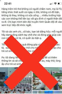 """Thông tin """"bé sơ sinh khóc thét cả ngày vì đói"""" ở BV Hùng Vương là bịa đặt"""