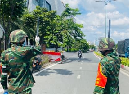 Bộ đội đã và đang làm gì ở TP.Hồ Chí Minh?