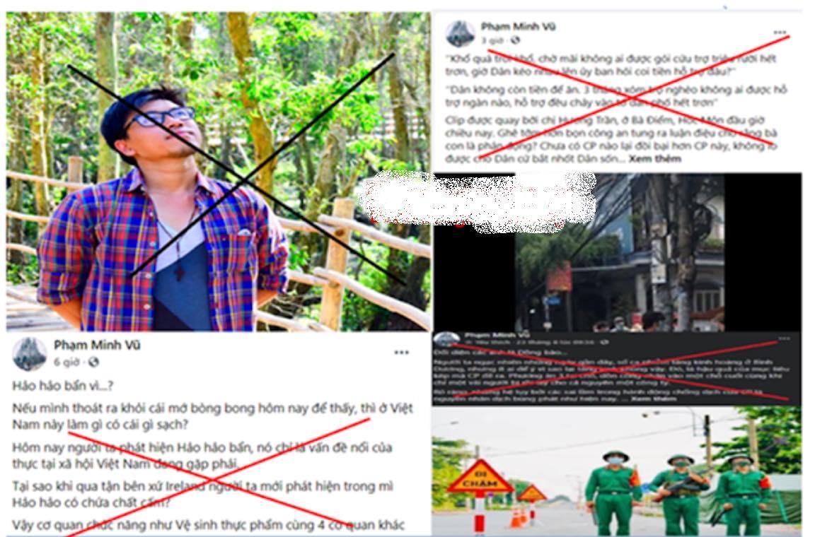 Phạm Minh Vũ đừng cố 'bơi ngược dòng' trong nỗ lực chống dịch của người dân Việt Nam