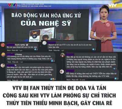 """VTV VÀ CÂU CHUYỆN """"BÓC PHỐT"""" NGHỆ SĨ"""