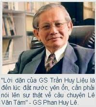 Giáo sư Phan Huy Lê: Ẩn chính dương phụ!